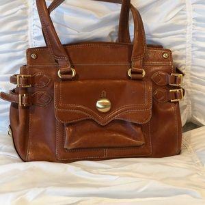 Maxx New York vintage leather handbag